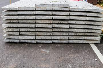 Cement slab floor concrete slab