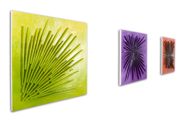 Kolorowe obrazy 3D