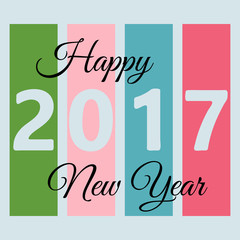 Happy New Year background. Happy holidays card. Creative design for your greetings card, flyers, posters, brochure, banners, calendar