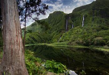 Ribeira do Ferreiro, Lagoa das Patas - Flores, Açores