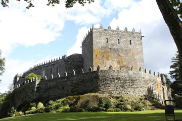 medieval castle of Sotomayor in Spain