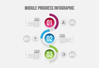 Module Progress Infographic