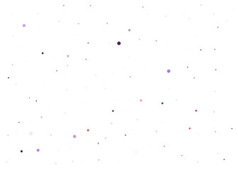 background with colored dots