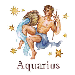 Zodiac sign - Aquarius.