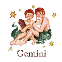 Zodiac sign - Gemini.