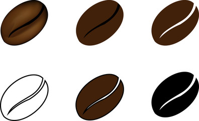 Coffee Bean Vector Photos Royalty Free Images Graphics