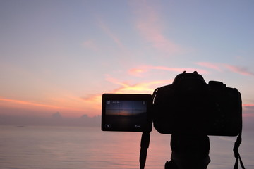 foto del amanecer