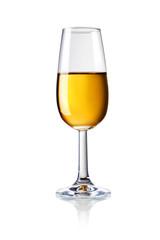 Glas mit Sherrywein