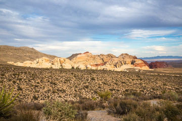 Red Rock Canyon in Nevada, USA.