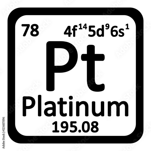 Platinum element