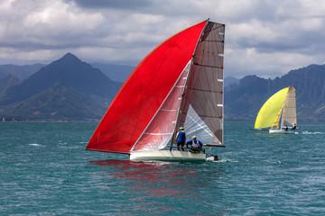 yacht racing Hawaii