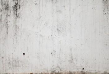 Fotorolgordijn Stenen Grunge White Concrete Wall Background