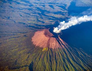 Mount Slamet or Gunung Slamet is an active stratovolcano in the Purbalingga Regency of Central Java, Indonesia.