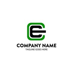 Computer And Network Logo Template