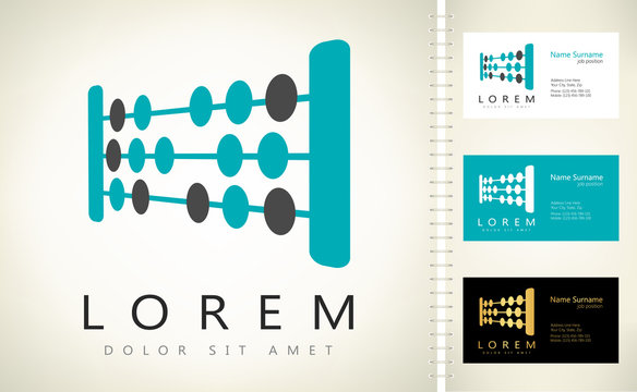 Abacuses vector logo