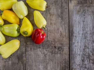many bell pepper