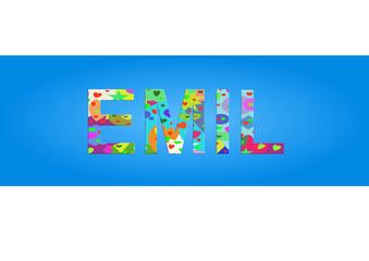 Vorname Emil, Grafik