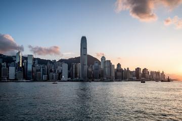 HongKong victoria harbor