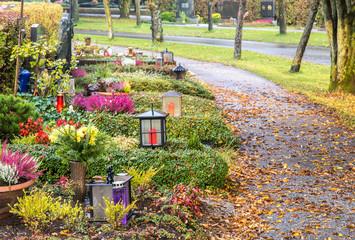 Herbstliche Friedhofsstimmung