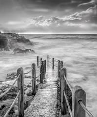 Stormy Bridge Walk