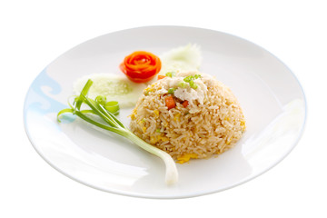 fried rice with shrimp, Thai Food