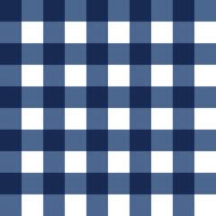 Dark blue plaid seamless pattern. Vector illustration