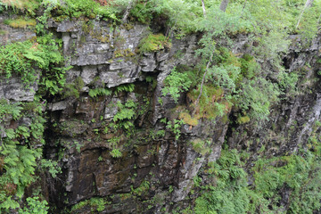 Moine Schist rocks