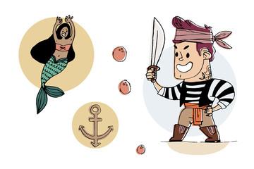 pirates vector graphics