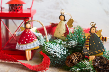 Christmas time decorations