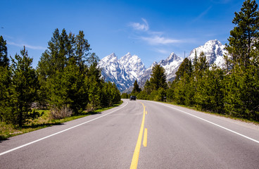 Grand Teton - Road