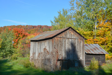 Old farm in country side of Bromont it is in the Brome-Missisquoi Regional County Municipality