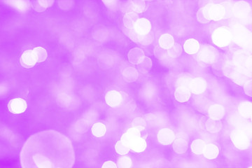 Abstract lilac background with white bokeh