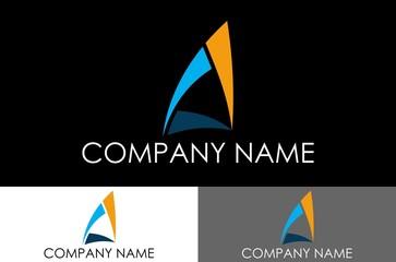 triangle logo vector