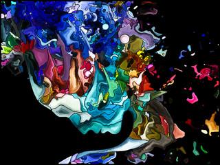 Visualization of Self Fragmentation