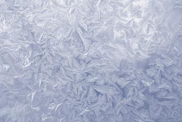 frost pattern window snowflakes