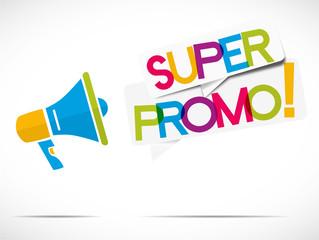 mégaphone : super promo
