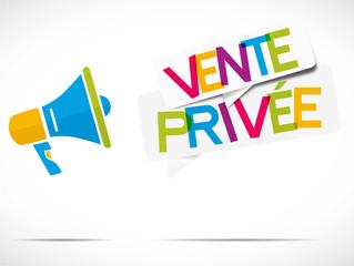 mégaphone : vente privée