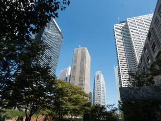 西新宿の高層ビル群