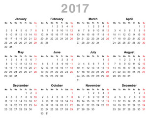 INSTRUCTIONAL CALENDAR 2017 - SFCC Homepage – …