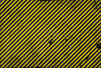 Black and yellow diagonal lines in grunge style