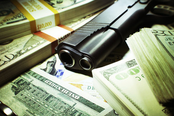 Guns and Money Close Up