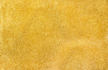 close up Gold glitter texture background,festive decoration