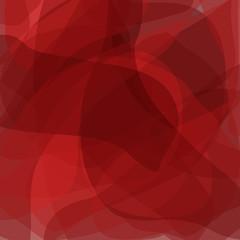 Abstract red ornament , square decorative monochrome background