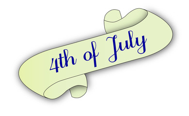 4th Of July Scroll