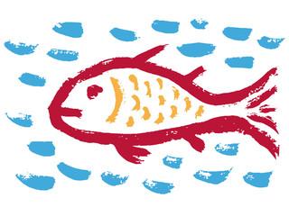 Fish Christian religious symbol