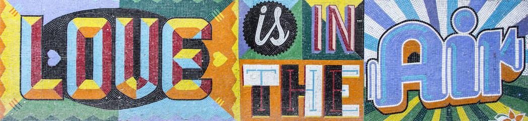 Estores personalizados con tu foto Wall mosaic