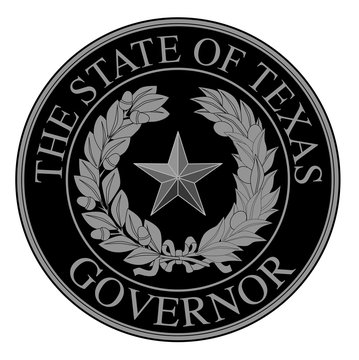 Texas State Governor Seal
