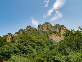 Mount Myogi (妙義山) in Gunma, Japan