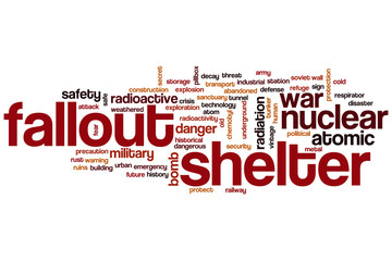 Fallout shelter word cloud