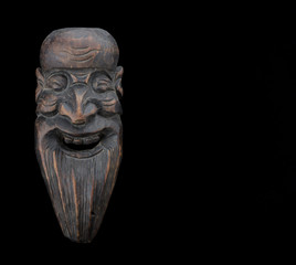bearded man mask